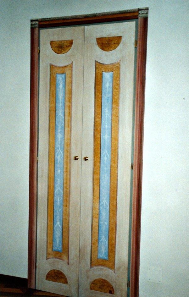 Decori su legno, decori pompeiani