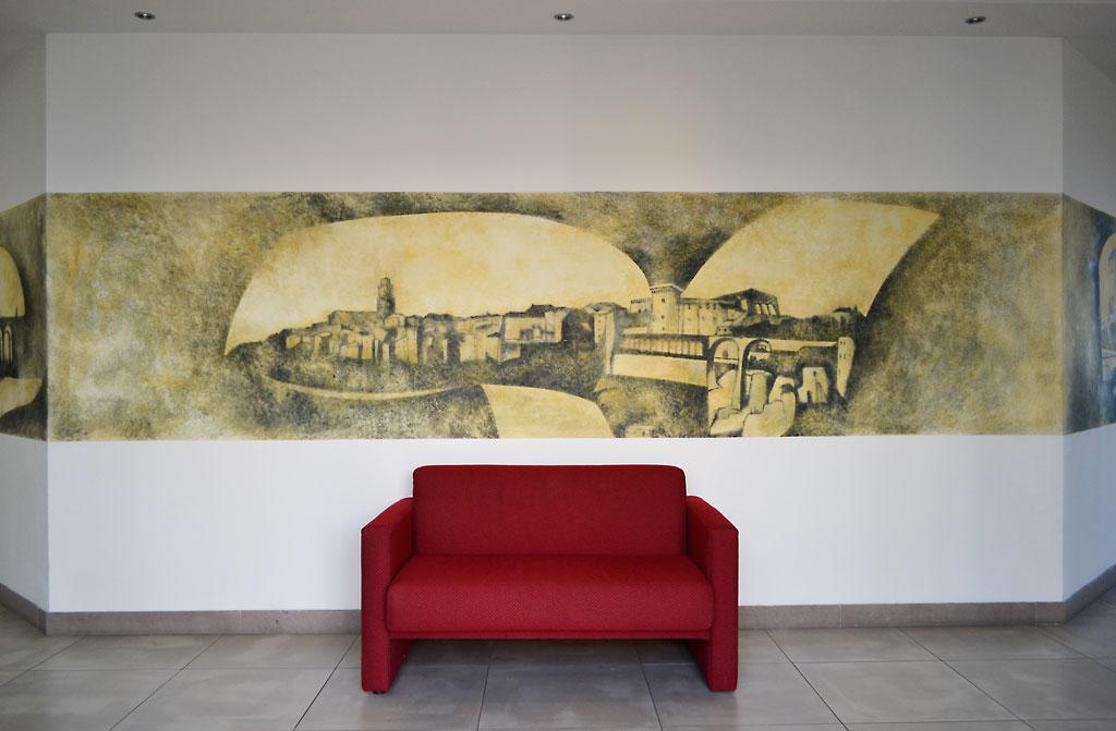 Decorazione su muro