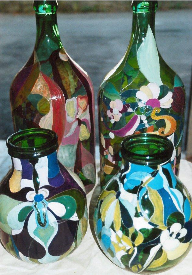 Bottiglie in vetro