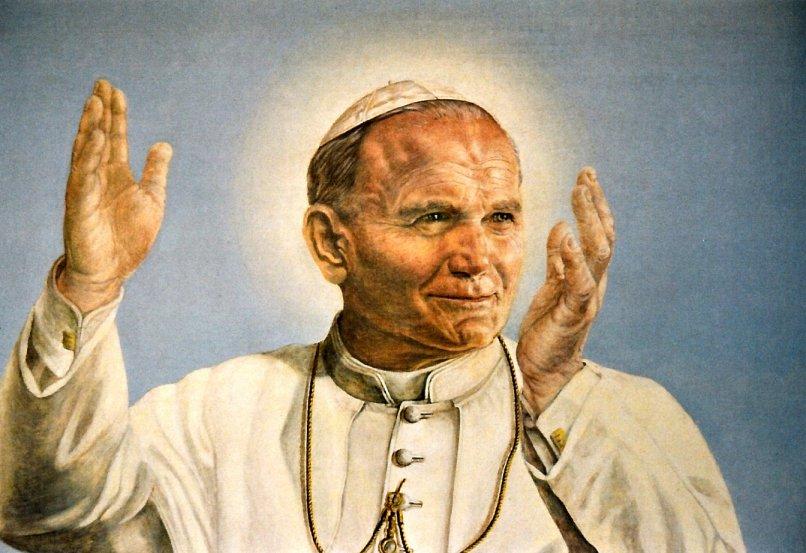Ritratto di Papa Giovanni Paolo II