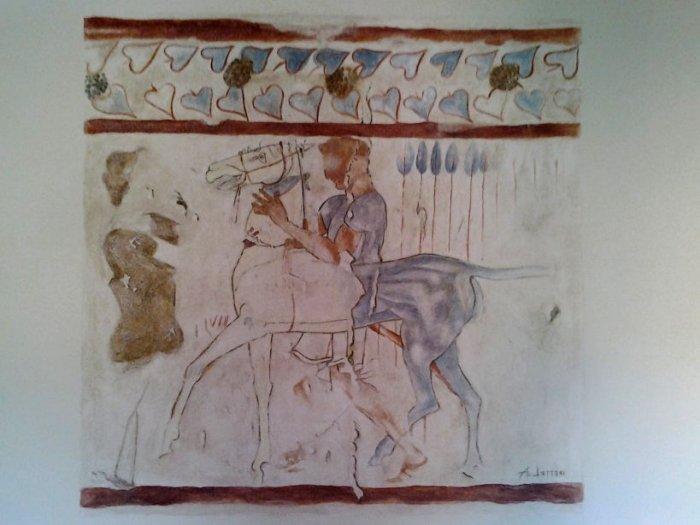 Il cavaliere - omaggio a Tarquinia
