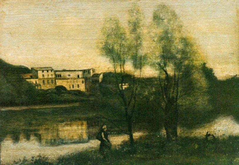 Copie d'arte - paesaggio di Corot