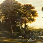 Copie d'arte - paesaggio settecentesco di Lorrain