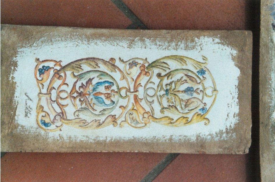 Pittura e decorazione su mezzana