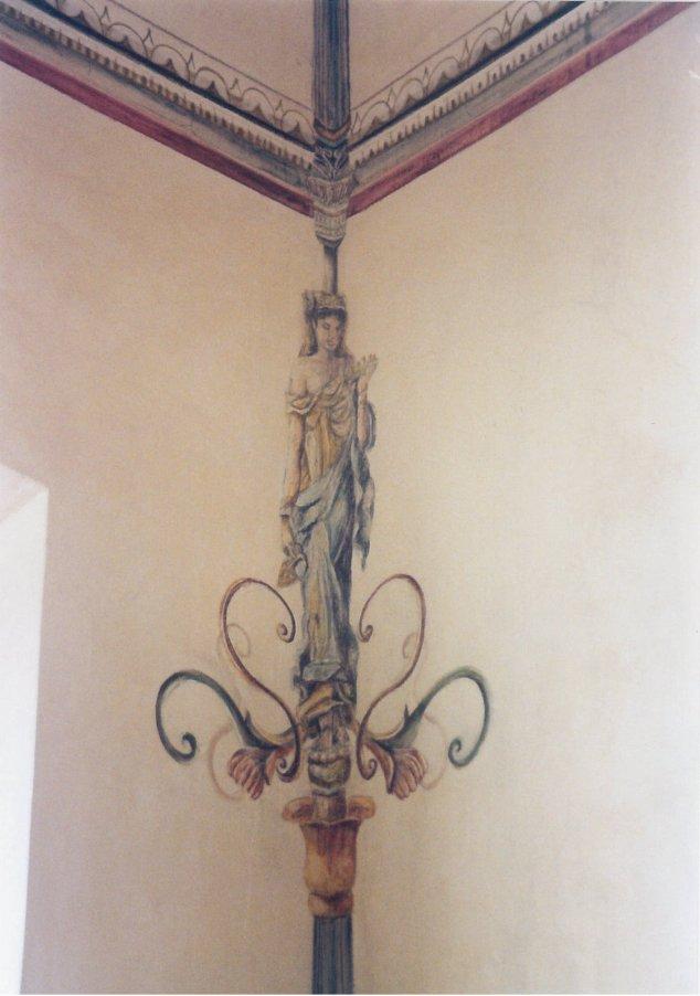 Pittura e decorazione su muro