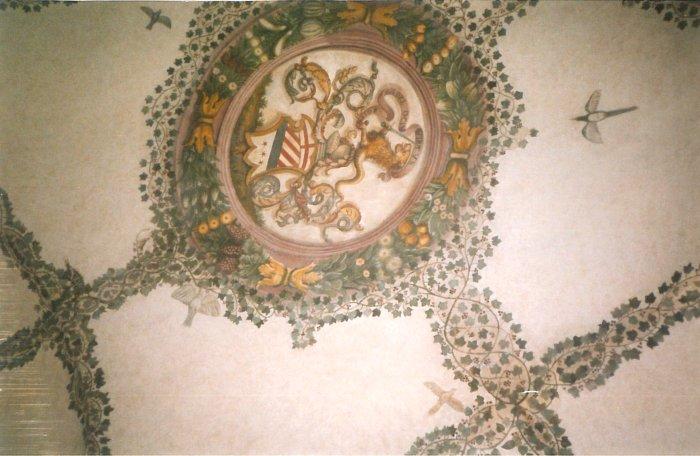 Restauro ad Orvieto stanza Dante Alighieri