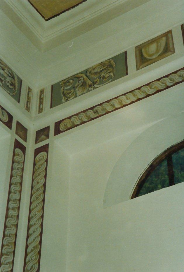Restauro edicola cimiteriale dei Piccolomini