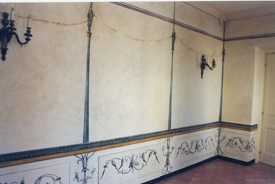 Decorazioni parietali pompeiane a Trompe l'Oeil