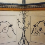 Decorazioni parietali pompeiane a trompe-l'oeil