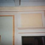 trompe-l'oeil murali stile napoleonico