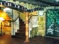 trompe-l'oeil taverna toscana in America